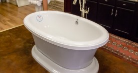 Free Standing Two Tone Aquatic Tub